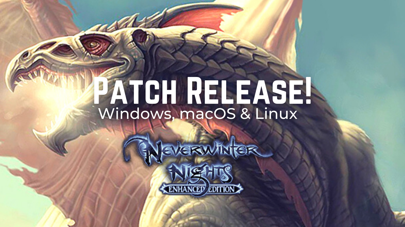 Patch 8193.23 Launches for Neverwinter Nights: Enhanced Edition!
